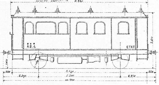 les voitures des chemins de fer de l 39 etat. Black Bedroom Furniture Sets. Home Design Ideas